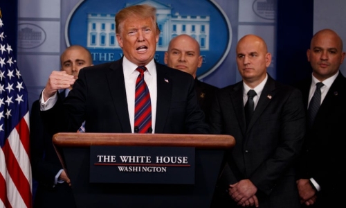 2. IN THE WHITE HOUSE BRIEFING ROOM JAN. 3  2018 Evan Vucci. AP