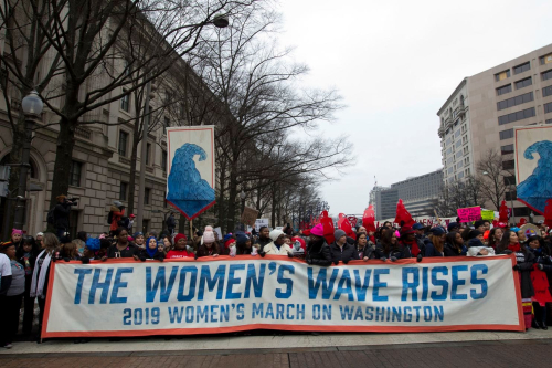 Women's March in Washington  D.C. 2019. Jose Luis Mangana . Associated Press