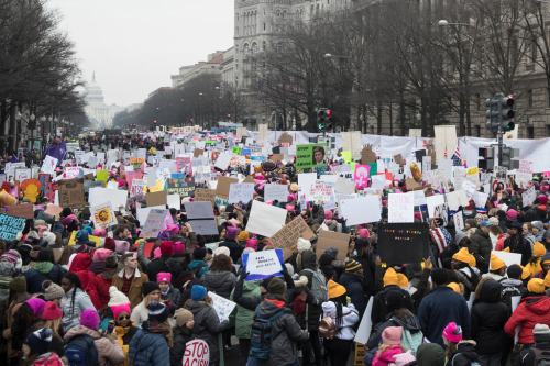 Women's March in Washington  D.C.2019. Sarah Silbiger. New York Times