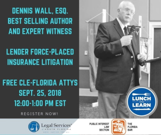 LENDER FORCE-PLACED LITIGATION WEBINAR.09.25.18.