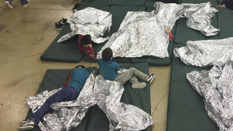 Children at the Border . USCBP Rio Grande Valley Sector via AP
