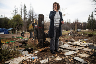 California Fire Victims (Matt Whittaker . New York Times)