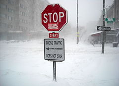 Washington  D.C. blizzard jpg via Wikimedia.com Stop_global_warming_sign_in_blizzard_-_February_10 _2010_blizzard