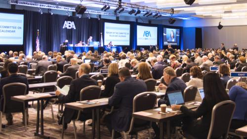ABA Classroom Mtg (American Bar Association)