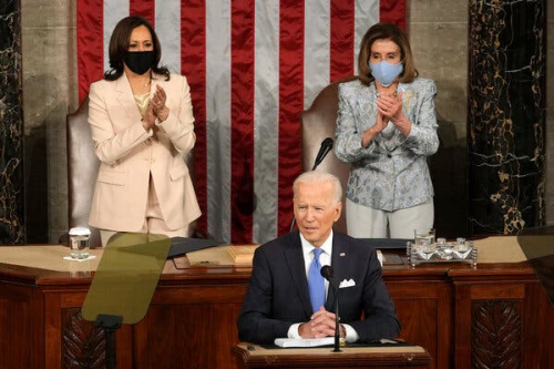 President Biden Wed.  04.28.21 (Mills . NYT)