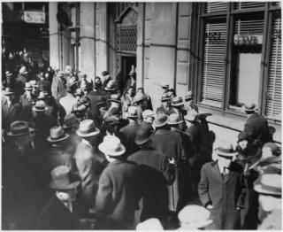 Bank Run 1933.
